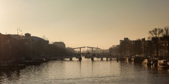 A cold but lovely morning - Amsterdam, Holanda